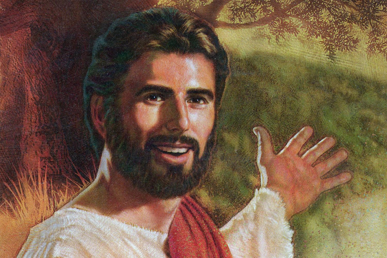 Watchtower Jesus found in Durand Eastman Park