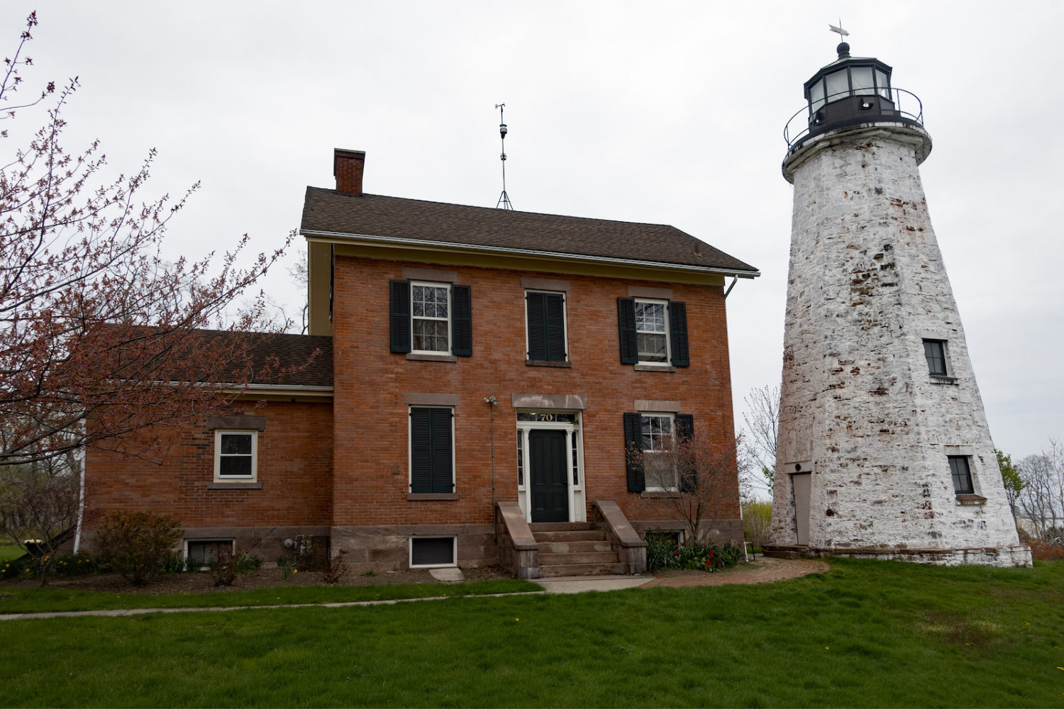 1822 Charlotte Genessee Lighthouse Rochester, New York