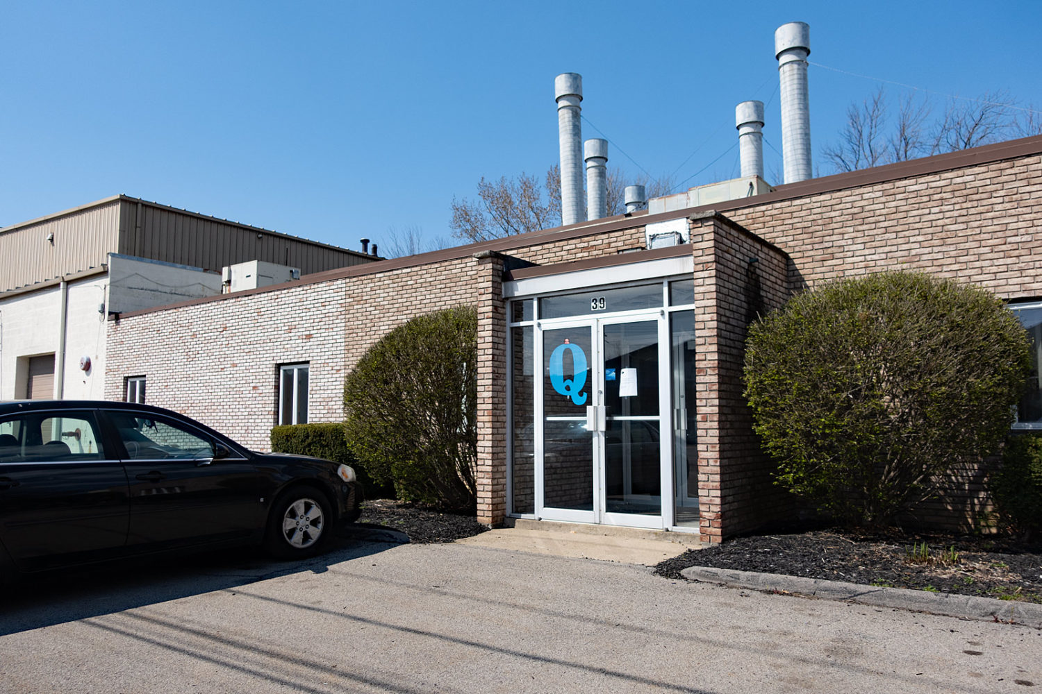 Former Maracle Industrial Finishing on Commercial Street in Rochester NY with Q