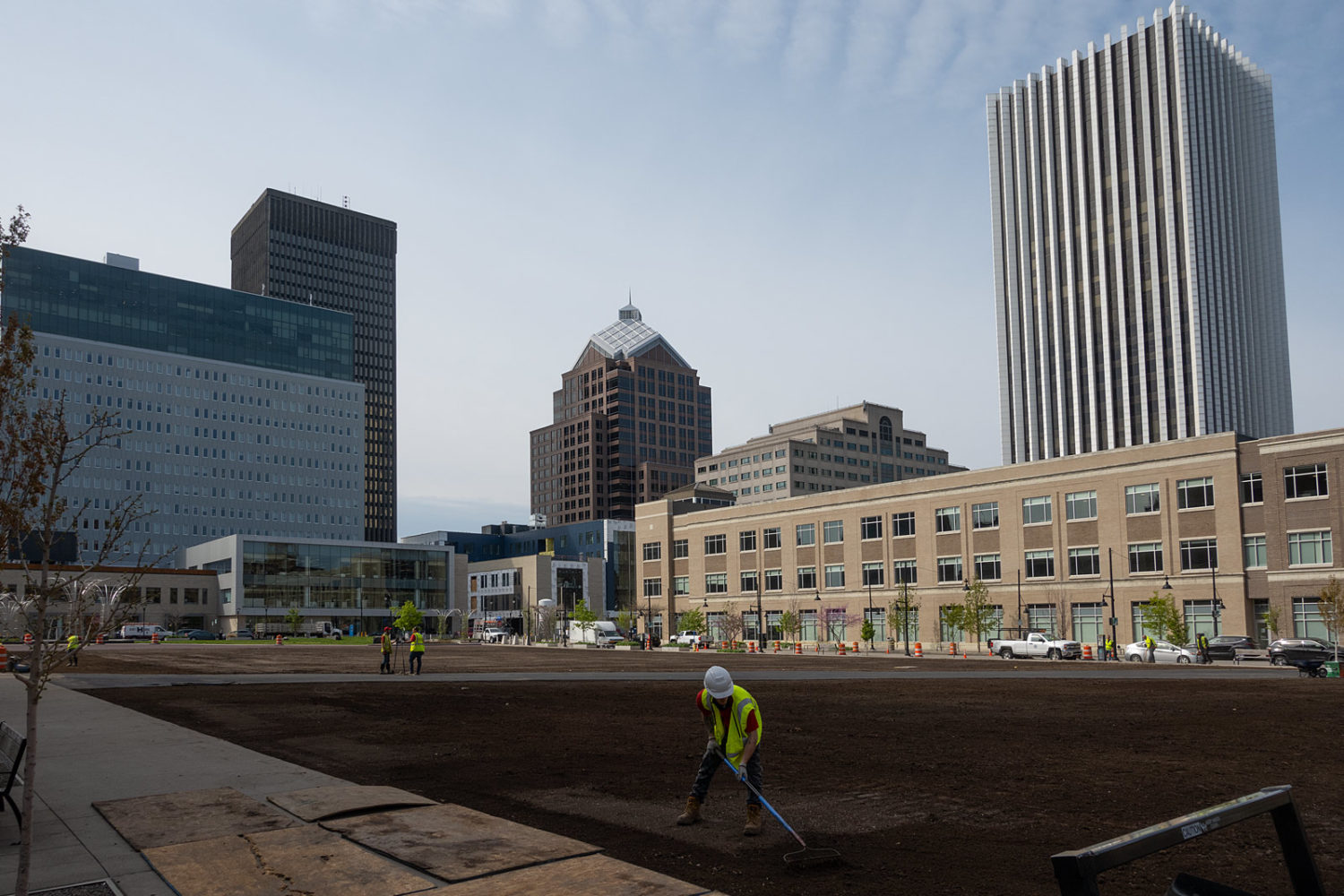Parcel 5 Green Space downtown Rochester