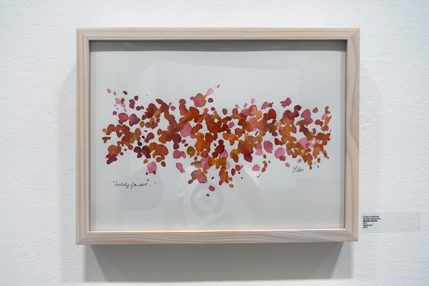 """Evelyne Albanese """"Melody Gardot"""" in Arena Artists Show at Rochester Contemporary"""